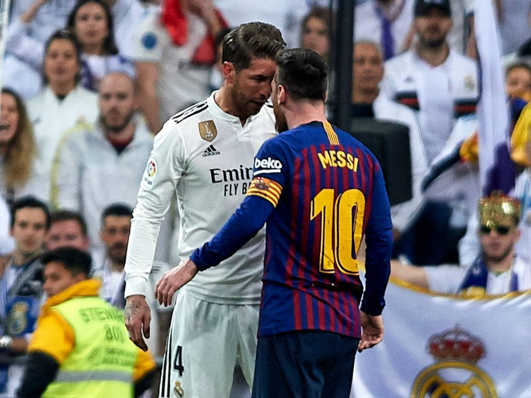 Real Madrid and Barca go head to head