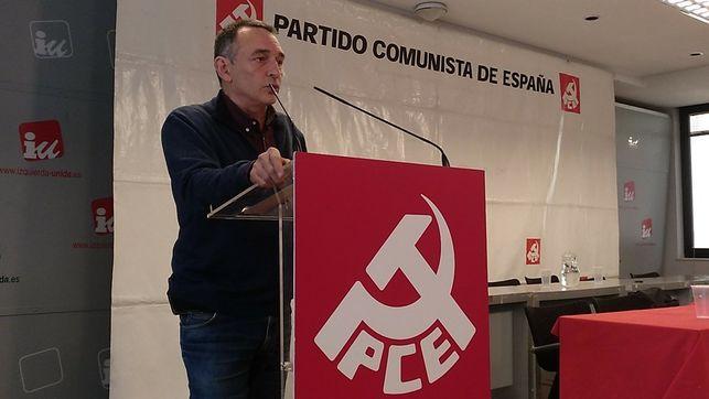 Enrique Santiago, leader of the Communist Party