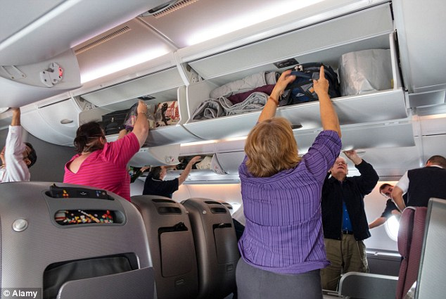 Hand luggage to be banned on aircraft