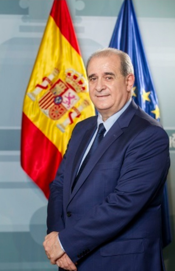 Director general of the National Police, Francisco Pardo.