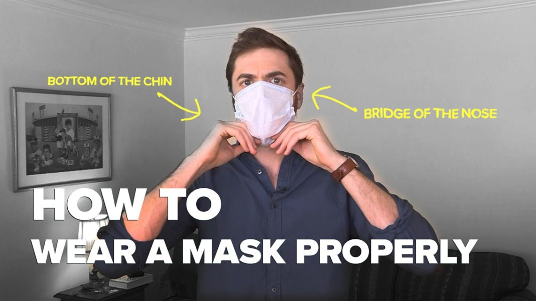 Are you wearing your mask correctly? Try this trick