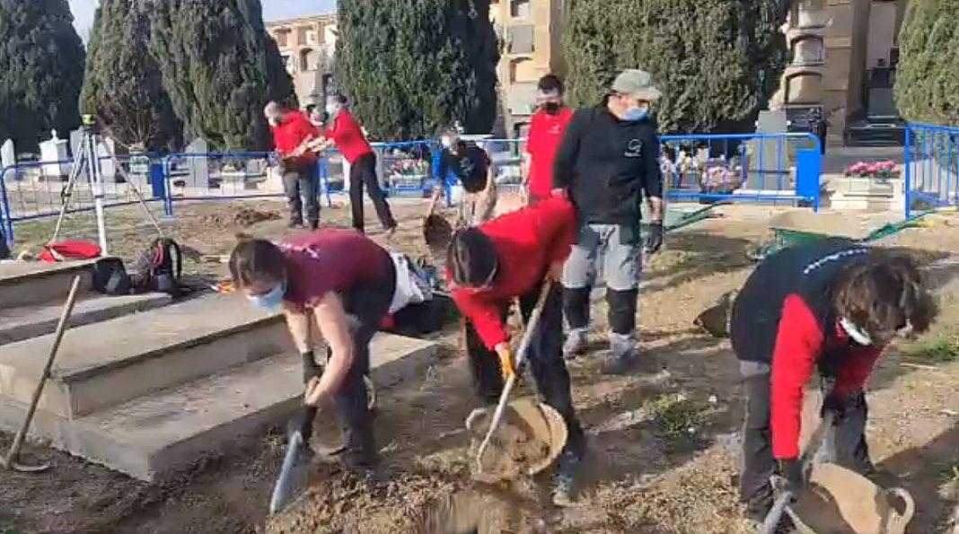 Exhumation underway in Alicante for Franco victims