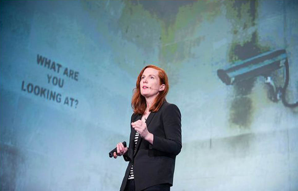 Kate Crawford, co-founder of the AI Now Institute