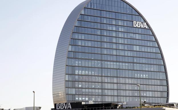 The Madrid headquarters of BBVA