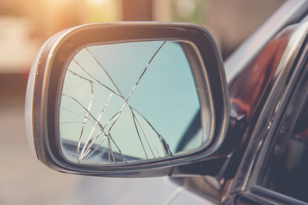 New ITV inspection tests include failing with damaged wing mirror