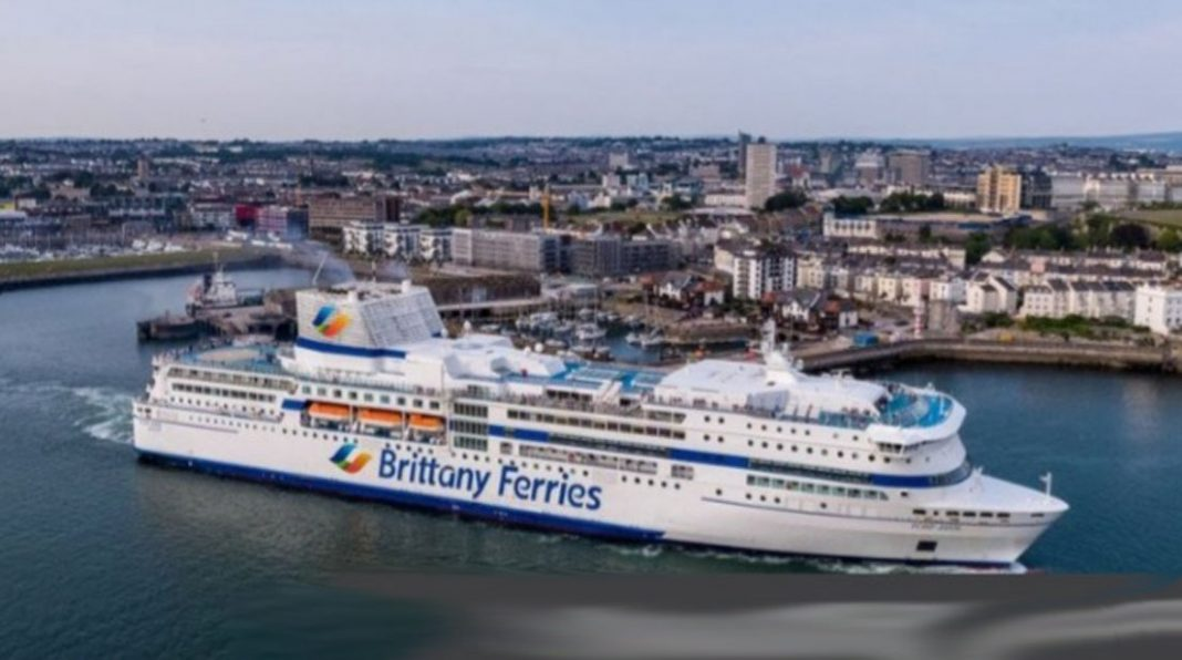 Passengers on board first UK ferry crossing to Spain in 8 months.