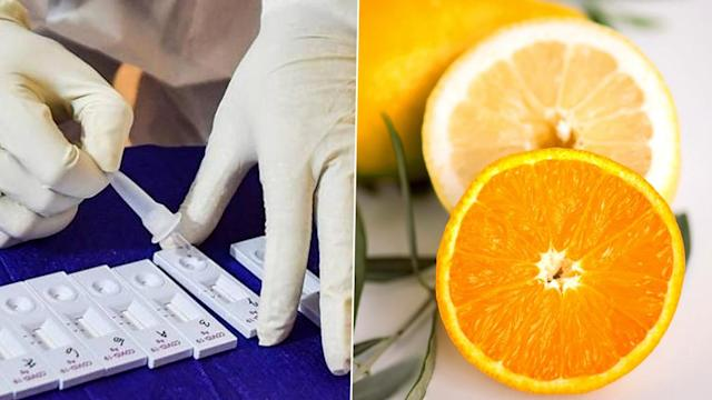 Warning as viral videos show fruit juice being used to create false positive COVID tests