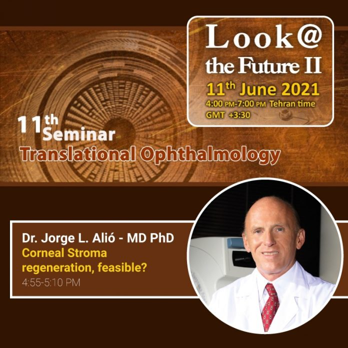 JORGE ALIÓ JOINS OTHER LEADING OPHTHALMOLOGISTS AT 'LOOK@ THE FUTURE II'