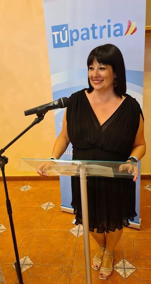 Tupatria Party leader Carmen Gomis
