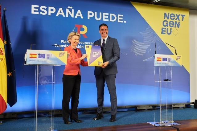 Spain receives EU €9 billion recovery grant