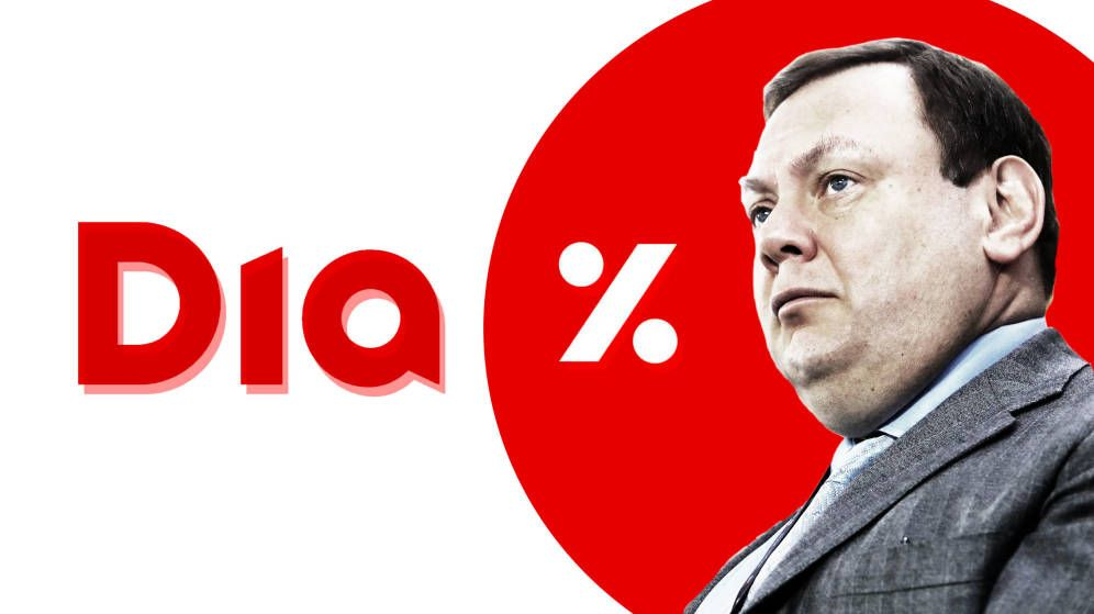 The free fall of DIA shares: 50% so far this year under the reign of Mikhail Fridman